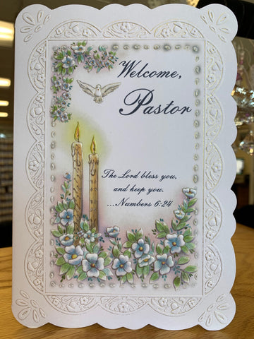 Welcome, Pastor Greeting Card