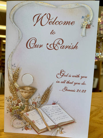 Welcome to Our Parish Greeting Card