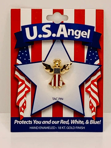 U.S.Angel Tie Tac Pin