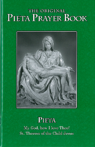 Pieta Prayer Book - English - Large Print