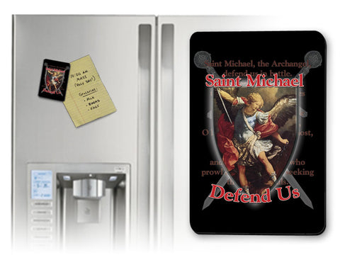 St. Michael Defend Us Magnet