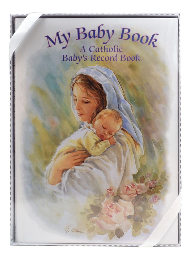 My Baby Book-A Catholic Baby's Record Book, Blanc