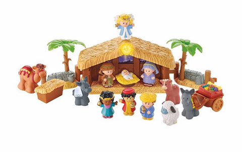 Little People: The Christmas Story (Nativity) by Fisher Price