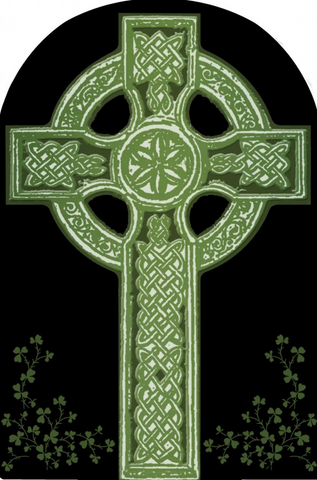 Celtic Cross Arched Magnet