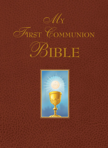 My First Communion Bible (Brown)