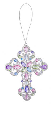 Ganz Crystal Expressions Sacred Cross Ornament