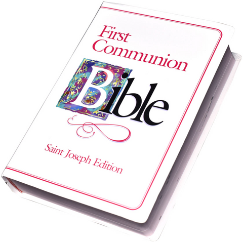 St. Joseph First Communion Bible (NABRE/girls)