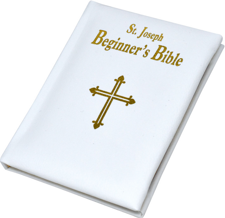 St. Joseph Beginner's Bible, Bonded Leather