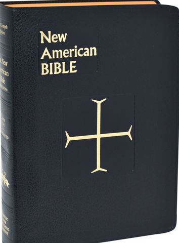 St. Joseph New American Bible RE, Gift Edition-Full Size, Large Type, Black or Red