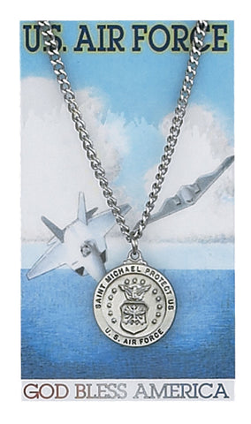 Military US Air Force St. Michael Medal