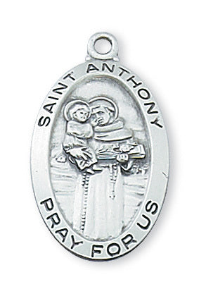 "SS St Anthony, 18"" chain"