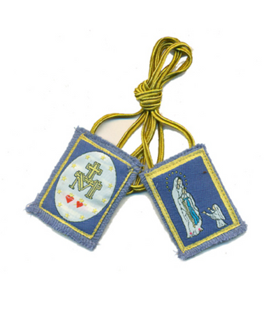 Blue Immaculate Conception Scapular
