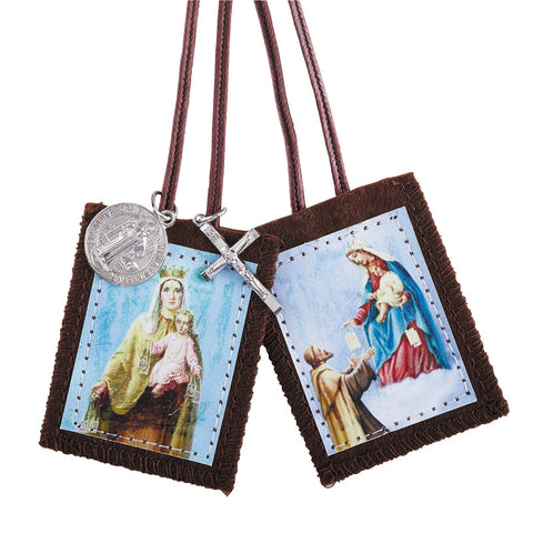 Brown Scapular adult