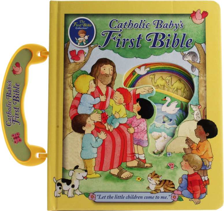 Catholic Baby's First Bible by Judith Bauer