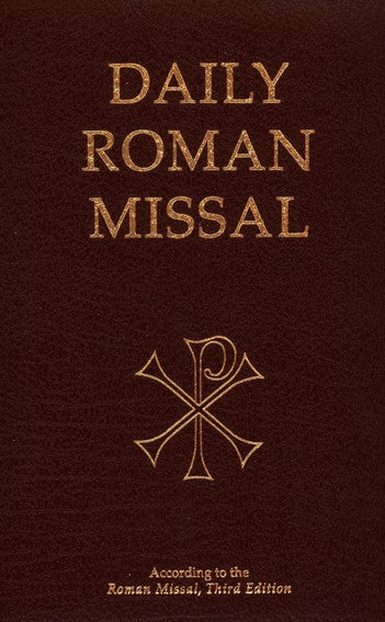 Daily Roman Missal - Third Edition MTF - Burgundy Padded Leather