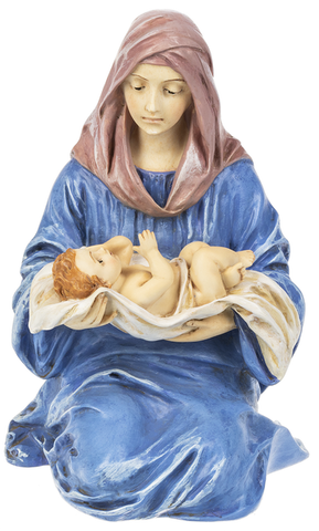 Mary & Child Nativity Figurine Statue
