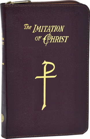 Imitation of Christ by Thomas A. Kempis, bonded leather, zipper close By Thomas à Kempis