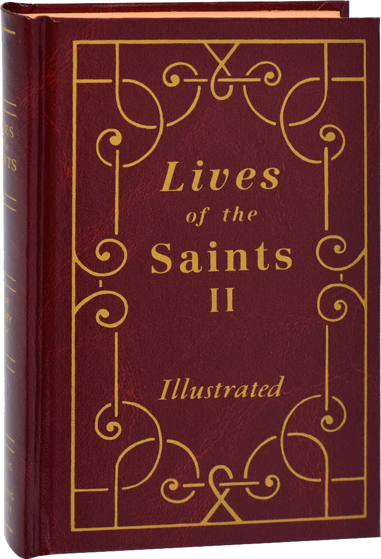 Lives of the Saints II, For Every Day of the Year, Illustrated, Hardcover