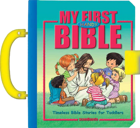 My First Handy Bible, Timeless Bible Stories for Toddlers By Judith Bauer