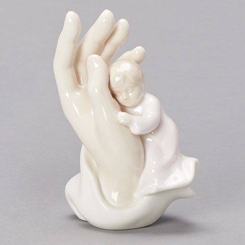 Palm of Hand, Girl, Porcelain