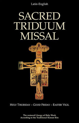 Sacred Triduum Missal, Holy Thursday, Good Friday, Easter Vigil
