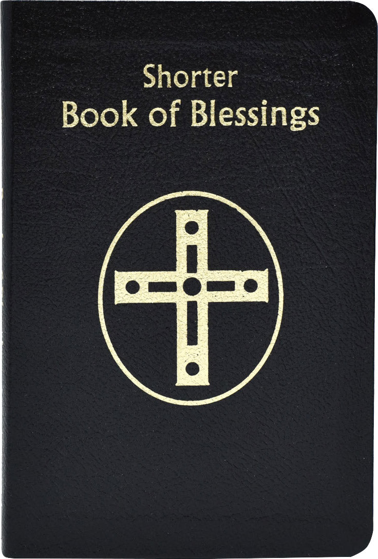 Shorter Book of Blessings, Leather Bound