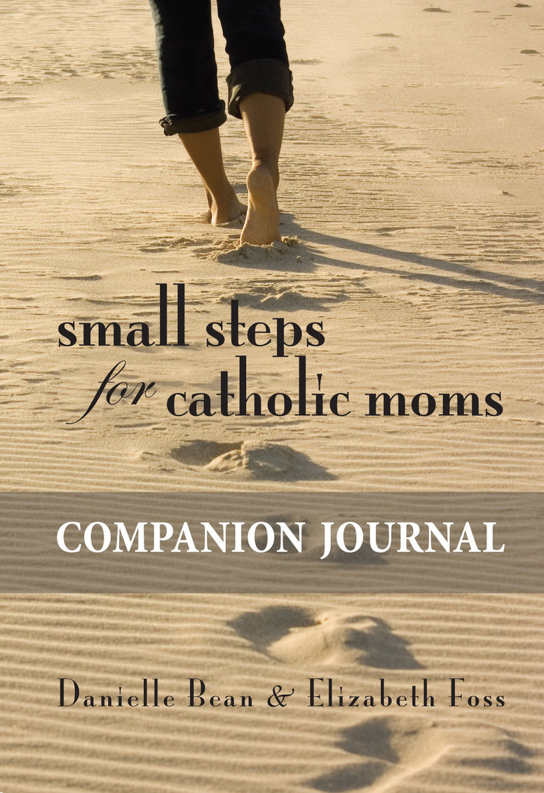Small Steps for Catholic Moms - Companion Journal By Danielle Bean and Elizabeth Foss