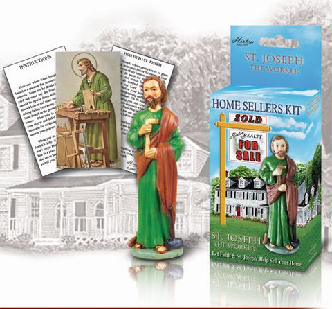 St. Joseph the Worker, Home Sellers Kit, Hirten