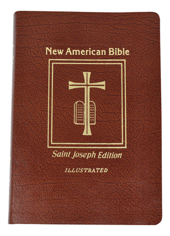 St. Joseph New American Bible, Revised Edition, Bonded Leather, Brown