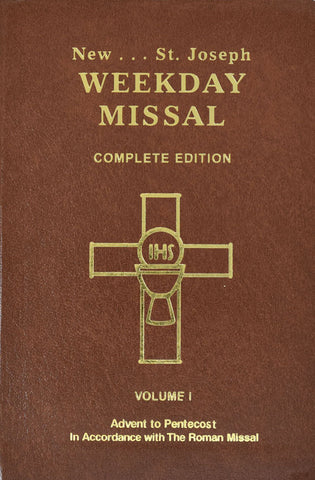 New St. Joseph Weekday Missal Complete Edition - Volume I Advent to Pentecost