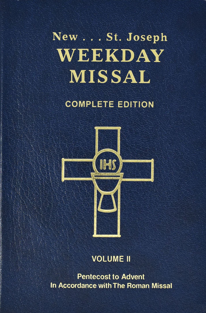 New St. Joseph Weekday Missal Complete Edition - Volume II Pentecost to Advent