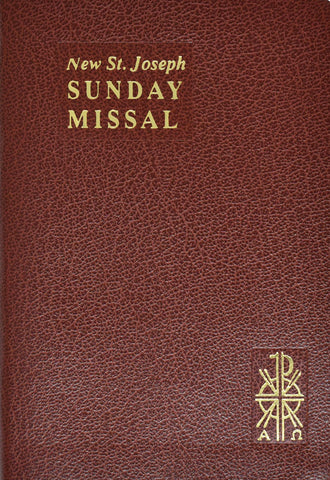 The New St. Joseph Sunday Missal - Complete Edition -  Brown Vinyl - Boxed