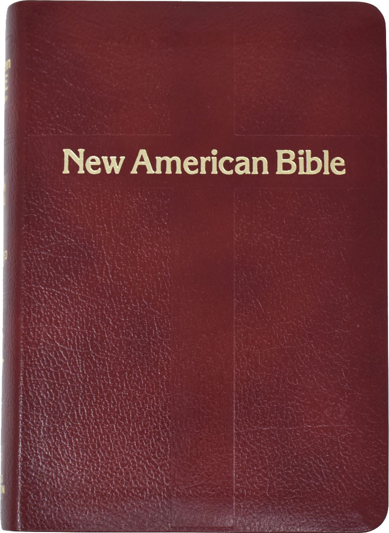 St. Joseph Edition of the New American Bible - Revised Edition - Burgundy Leather gold edges