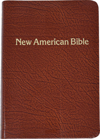 St. Joseph Edition of the New American Bible - Revised Edition - Brown Leather gold edges