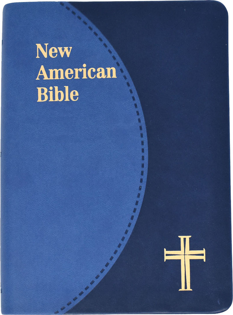 St. Joseph Edition of the New American Bible - Revised Edition - Blue duotone gold edges