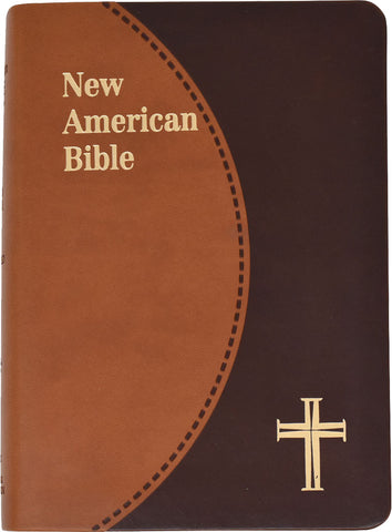 St. Joseph Edition of the New American Bible - Revised Edition - Brown duotone gold edges