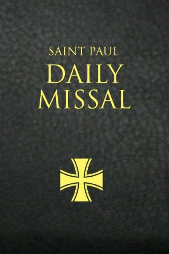 Saint Paul Daily Missal - Black Leather bound