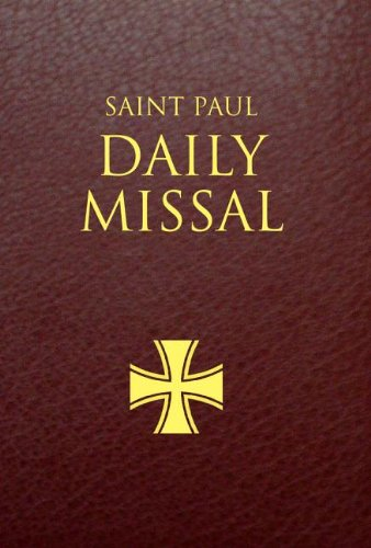 Saint Paul Daily Missal - Burgundy Leather bound