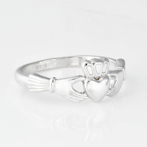 Silver Claddagh Ring - Small