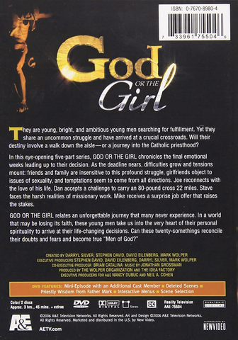 God or the Girl  DVD