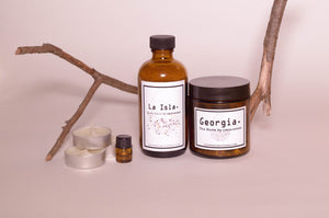 Glow by Grounded Self Care Bath Kit: Soothe