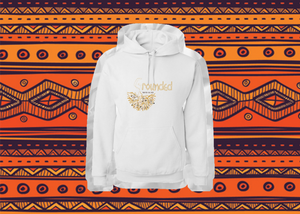 Grounded Logo Hoodie (gold text)