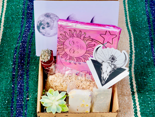 Grounded Self-Care Box + Astral Pack