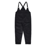 Tom Boy Cords Overalls in Black