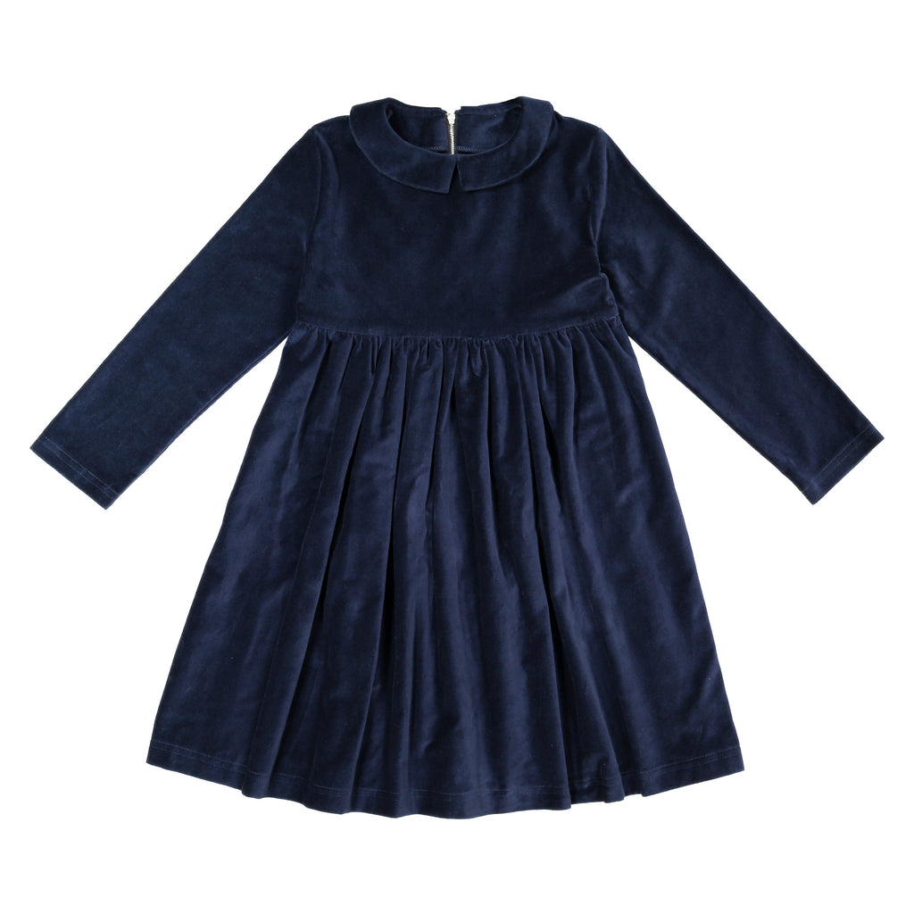 Velvet 70's Pelisse in True Navy