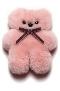 Little Cuddle Bear in Rose