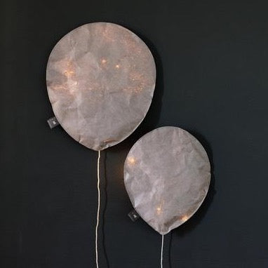 Cool Gray Lighting Balloon - Large