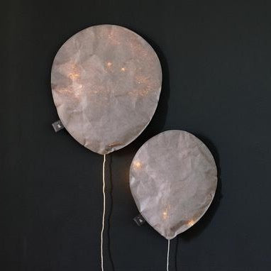 Cool Gray Lighting Balloon - Small