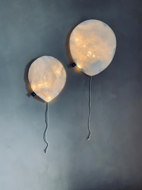 White Lighting Balloon - Small