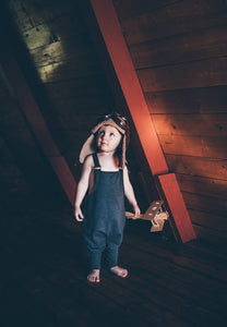 Urban Child Overalls w/ Slider Buckle